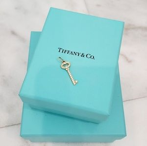 Tiffany Necklace and Key Charm